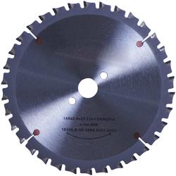CONNEX Kreissägeblatt Handkreissägeblatt, HM, Ø 180 mm grau
