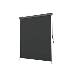 Strattore Balkonsichtschutz Ausziehbare Senkrechtmarkise / Vertikalmarkise 180 x 250 cm - Anthrazit