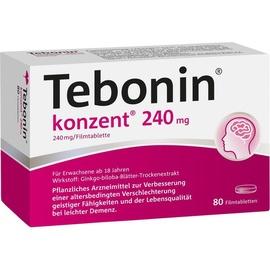 Dr Willmar Schwabe GmbH & Co KG Tebonin konzent 240 mg Filmtabletten 80 St.