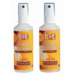 B&E Lederpflege im Set Leather Cleaner und Conditioner