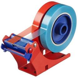 Tischabroller für bis zu 2 Rollen rot/blau