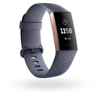 Fitbit Charge 3 blaugrau / rosegold
