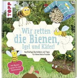 TOPP Wir retten die Bienen, Igel und Käfer