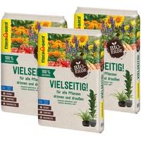 Floragard Bio-Erde Vielseitig 3 x 10 l