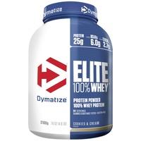 Dymatize Elite 100% Whey Protein Cookies Cream Pulver 2100 g