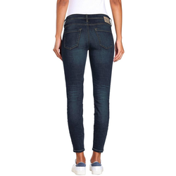 GANG Skinny-fit-Jeans Faye im Flanking-Style blau 27