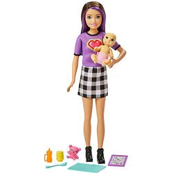 "Barbie ""Skipper Babysitters Inc."" Puppe + Baby/Accy Skipper"