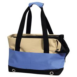 Nobby Tasche Salta beige/blau für Hunde