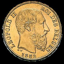 5,81 g Gold 20 Francs Belgien