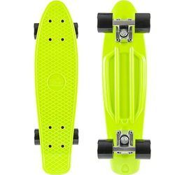 Skateboard Vintage Cruiser 60mm grün-kombi
