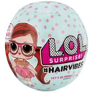 L.O.L. Surprise! 564751E7C Hairvibes Dolls with 15 Surprises and Mix & Match Hair Pieces, Multi