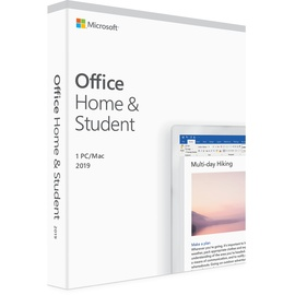 Microsoft Office Home & Student 2019 PKC IT Win Mac