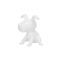 Skulptur Beagle II 21-J Weiß