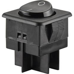 SCI Wippschalter R13-104C-01 250 V/AC 10A 2 x Ein/Ein rastend