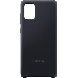 Samsung Silicone Cover EF-PA715 für Galaxy A71 schwarz