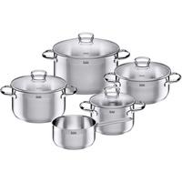 Silit Toskana Topf-Set 5-tlg. 3 x Fleischtopf + Bratentopf + Stielkasserolle