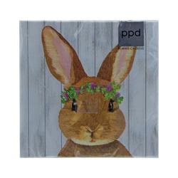PPD Papierserviette Osterhase Vivien 20 Stück 33 cm