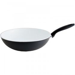 Fissler Ceramic wok pfanne, 28cm black,