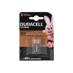 Duracell Duracell CR123A Photobatterie CR123 A Lithium Batt Fotobatterie