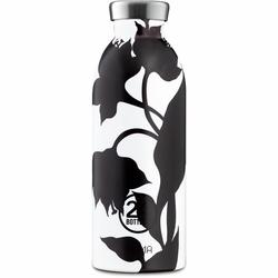 24Bottles Botanique Clima Trinkflasche 500 ml black dahlia