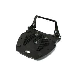 SW-Motech Adapterplatte für ALU-RACK Gepäckträger - Für Hepco & Becker. Schwarz., schwarz