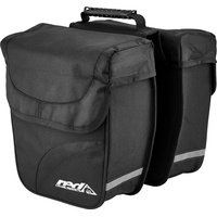 Red Cycling Products Double City Bag schwarz