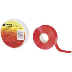 3M SCOTCH<sup>TM</sup> 35 80-6112-1156-8 Isolierband Scotch® 35 Rot (L x B) 20m x 19mm 20m