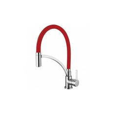 HAK Küchenarmatur SINKS Küchenarmatur, Chrom/Rot Größe 420mm