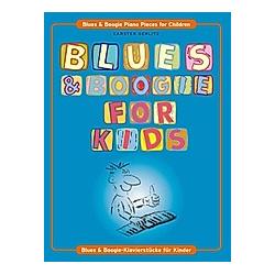 Blues & Boogie For Kids  für Klavier. Carsten Gerlitz  - Buch