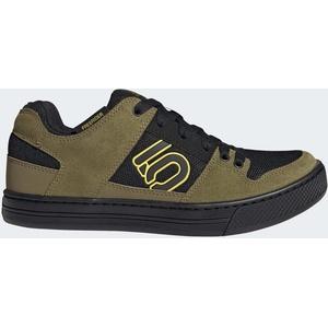 adidas Five Ten Freerider Mountain Bike Schuhe Herren hazy yellow/wild moss/core black UK 9,5 | EU 44 2021 Fahrradschuhe beige, schwarz UK 9,5 | EU 44