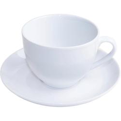 nurso Tasse Mona (12-tlg), Porzellan, (6 Tassen, 6 Untertassen)