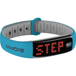 Sigma Fitness-Tracker Blau
