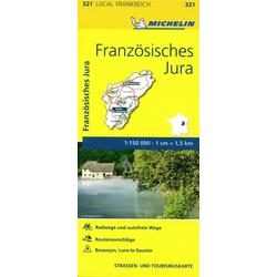 Michelin Französisches Jura