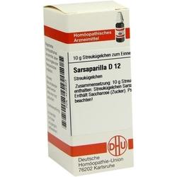 SARSAPARILLA D 12 Globuli 10 g