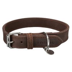 TRIXIE Hunde-Halsband Rustic Fettleder, Leder 2 cm x 44 cm