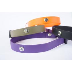 DOGSCODE Tier-Halsband, Beta Biothane, Profi-Ausrüstung lila 1.9 cm x 50 cm
