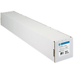 HP C6019B Plotterpapier Matt 610 mm x 45,7 m 90 g/m² Weiß
