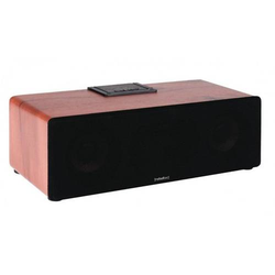 12W Bluetooth Lautsprecher Echt Holzgehäuse Akku Wireless Speaker passiver Bass Speaker USB MP3 AUX