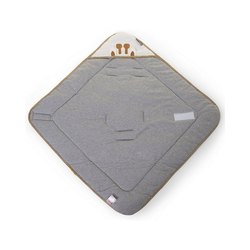 Einschlagdecke Einschlagdecke, grau, 75x75 cm, CHILDHOME