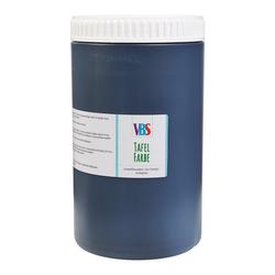 """VBS XXL Tafelfarbe """"Seidenmatt"""" Schwarz 1.000 ml"""