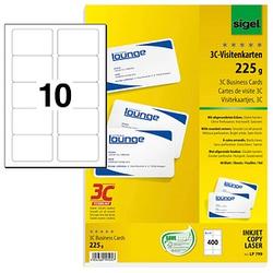 400 SIGEL Visitenkarten LP799 weiß