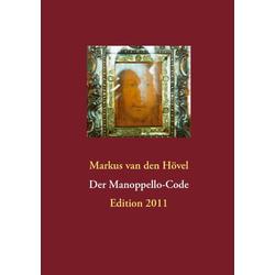 Der Manoppello-Code als Buch von Markus van den Hövel
