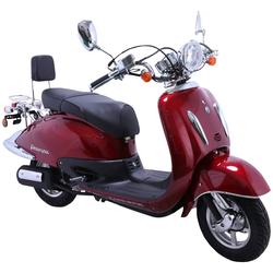 ALPHA MOTORS Motorroller Retro Firenze rot
