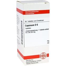CAPSICUM D 6