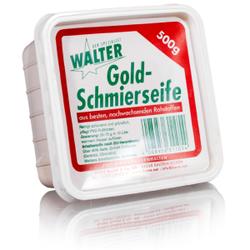 Walter Goldschmierseife, Flüssigseife für die schonende und gründliche Reinigung , 1 Karton = 12 x 500 g Packung