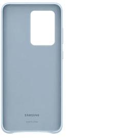 Samsung Leather Cover EF-VG988 für Galaxy S20 Ultra 5G blue coral