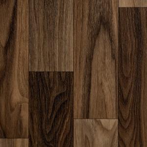ilima Vinylboden PVC Holzoptik Schiffsboden Nussbaum 400 cm breit