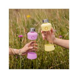 equa Trinkflasche Equa Active Plum Trinkflasche aus Glas 550ml