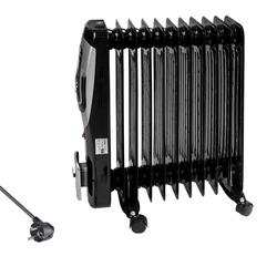 Ölradiator Elektroheizung Elektroheizkörper Heizkörper Heizer 11 Rippen 2500W