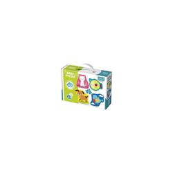 Trefl Puzzle Baby Puzzle - Kleine Tiere (4 x 2 Teile), Puzzleteile
